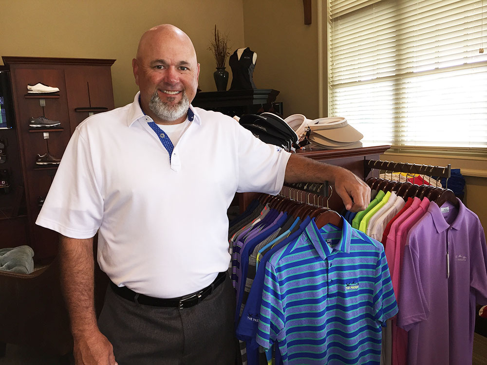 Golf Pro at The Preserve Golf Club Wins Merchandiser of the Year