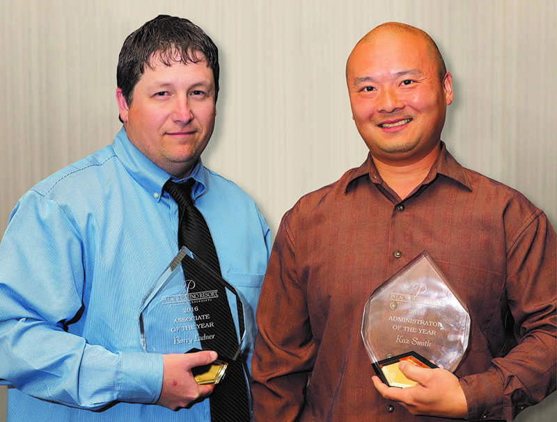 Palace Casino Resort Announces Administrator and Associate of the Year