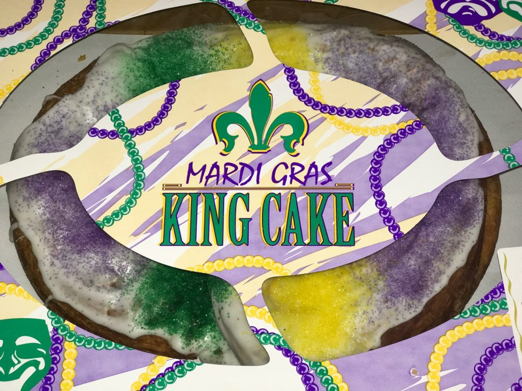 It's King Cake Time at Palace Café & Bakery!