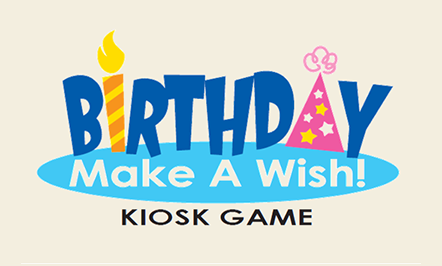 Birthday Make A Wish Kiosk Game