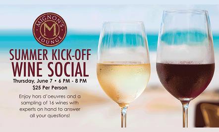 Summer Kick-Off Wine Social