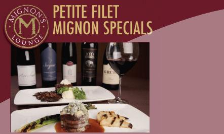 Petite Filet Mignon Specials