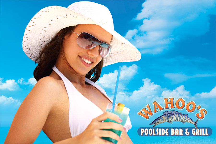 Wahoo's Poolside Bar & Grill Now Open Daily