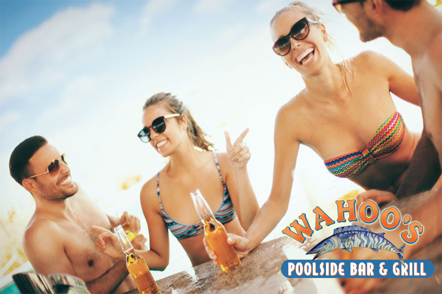 Wahoo's Poolside Bar & Grill Returns on April 13