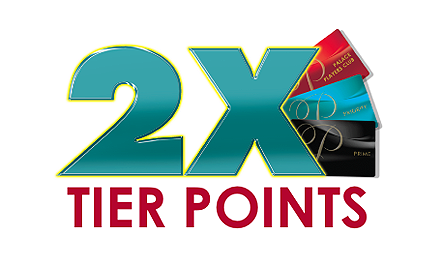 2X Tier Points