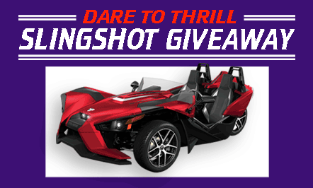 Dare to Thrill – Slingshot Giveaway