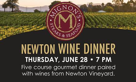 Newton Wine Dinner