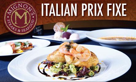 Italian Prix Fixe