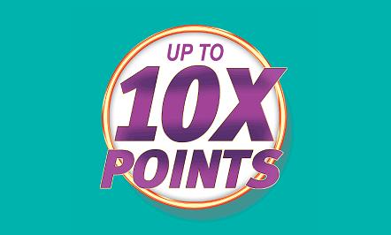 10X Points