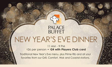 New Year's Eve Buffet