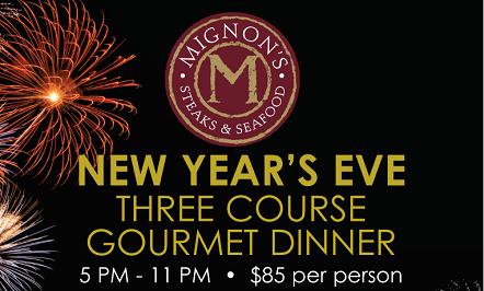 New Year's Eve Mignon's