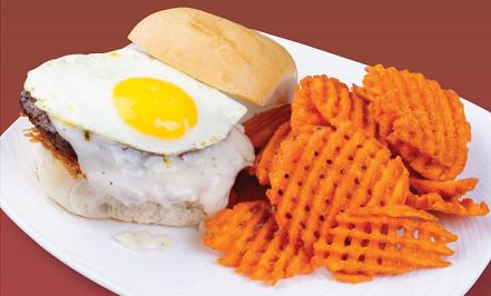 December Special Breakfast Burger
