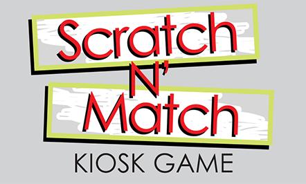 Scratch N' Match Kiosk Game