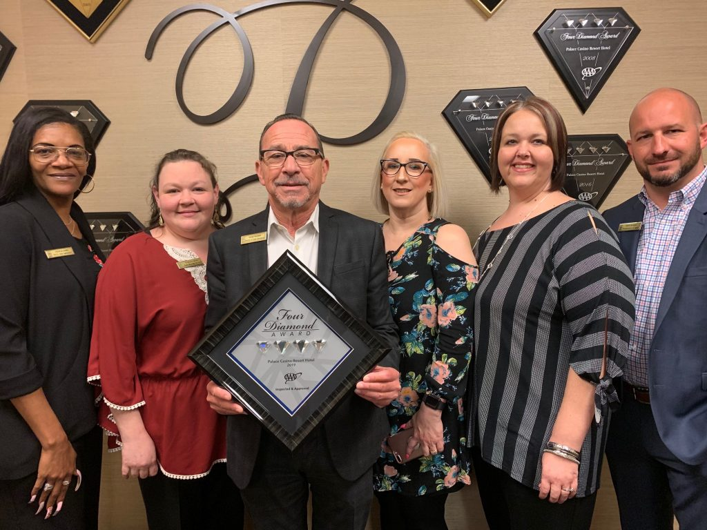 Palace Casino Resort Receives 12th AAA Four Diamond Award