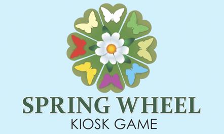 Spring Wheel Kiosk Game