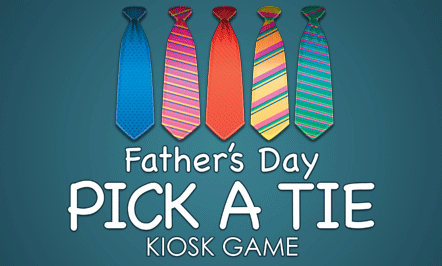 Father's Day Kiosk Game