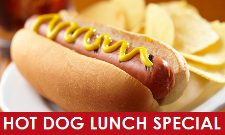 Hot Dog Lunch Special