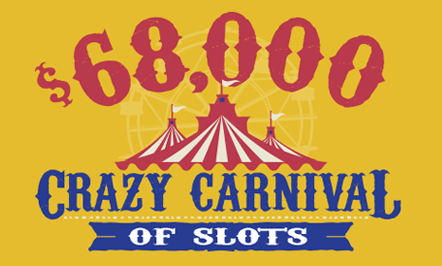 $68,000 Crazy Carnival of Slots