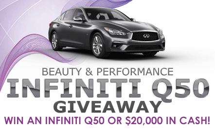 Infiniti Q50 Giveaway
