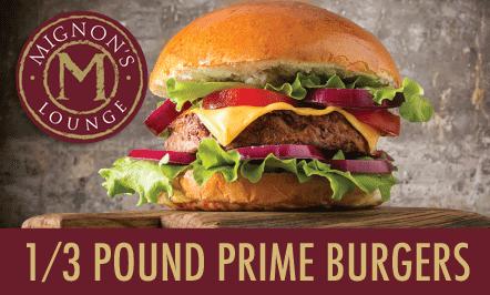 1/3 Pound Prime Burgers