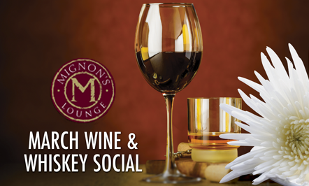 March Wine & Whiskey Social