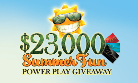 Summer Fun Tiered Power Play Giveaway