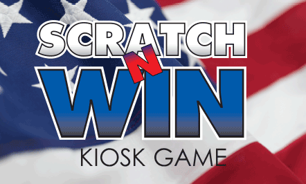 Patriotic Scratch Kiosk Game