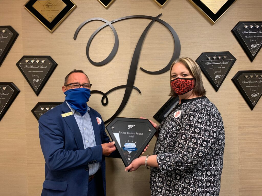 Palace Casino Resort Receives AAA Four Diamond Award for 2020