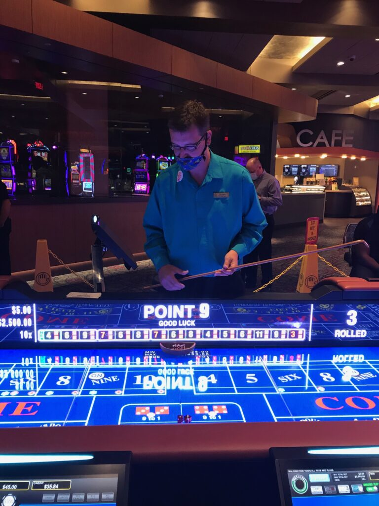 Palace Casino Resort is First Casino In Mississippi To Offer Roll To Win Craps Game