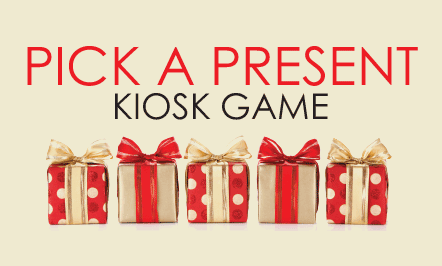 Pick A Present Kiosk Game