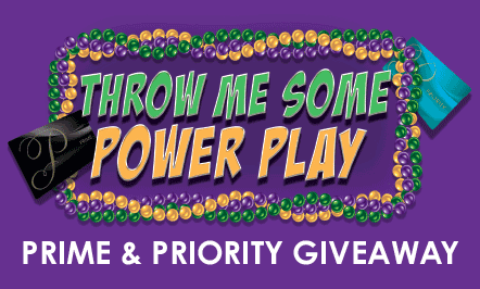Throw me Some Power Play PRIME & PRIORITY Giveaway