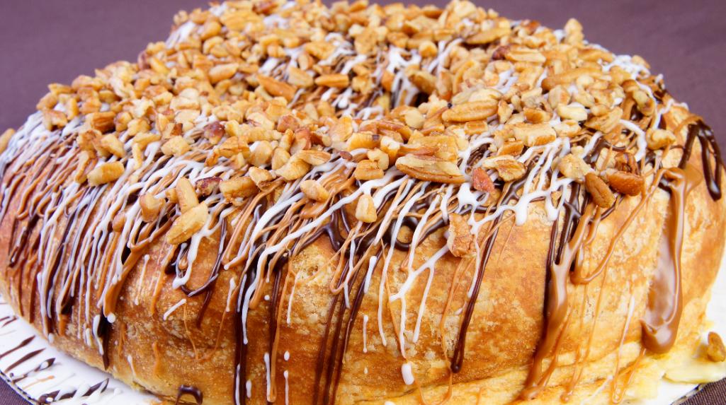 It's King Cake Time at Palace Café & Bakery