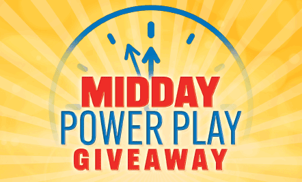 Midday Power Play Giveaway