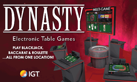Palace Casino Resort Now Offering Dynasty Multi-Game Electronic Table Games
