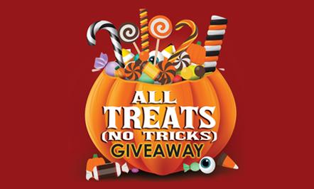 All Treats (No Tricks) Giveaway