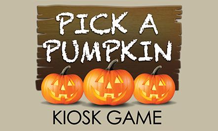 Pick A Pumpkin Kiosk Game